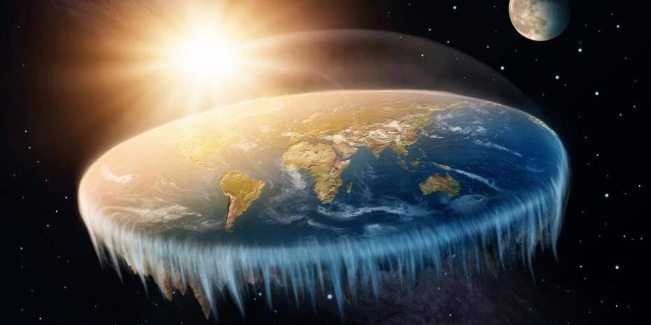 la Terre plate