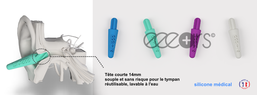 Bannis en 2020, les Coton-Tige ont leur remplaçant : Eeears, un bâtonnet en silicone, plus propre pour la planète et moins dangereux pour les oreilles.