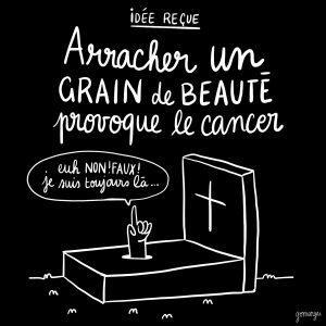 Arracher Un Grain De Beauté Provoque Le Cancer