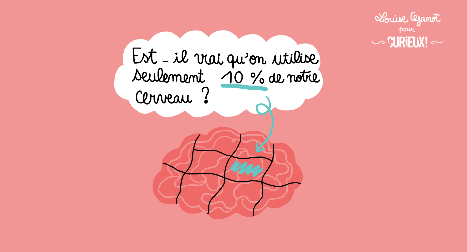« Utilise-t-on seulement 10% de notre cerveau ? »