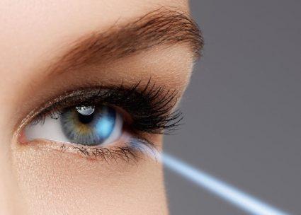 Le laser ultrabref en ophtalmologie. ©Amplitude
