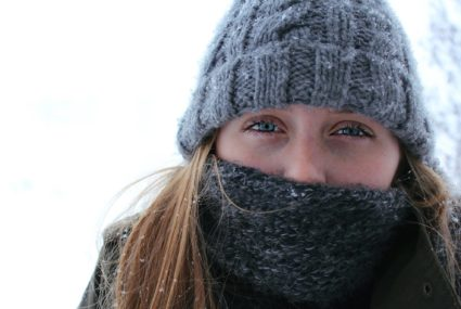 nez qui coule et rhume en hiver