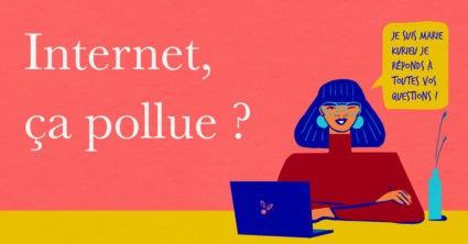 Internet, ça pollue