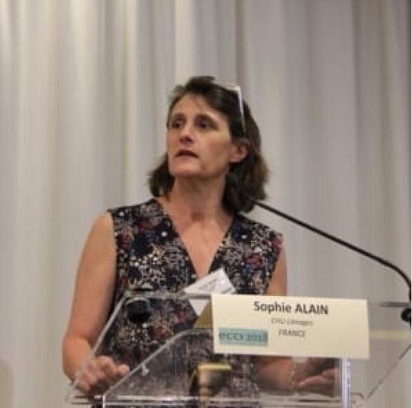 """""""Les tests sérologiques permettent d'estimer l'étendue réelle de l'infection de la population au Covid-19"""" a déclaré la professeure Sophie Alain, virologue au CHU de Limoges."""