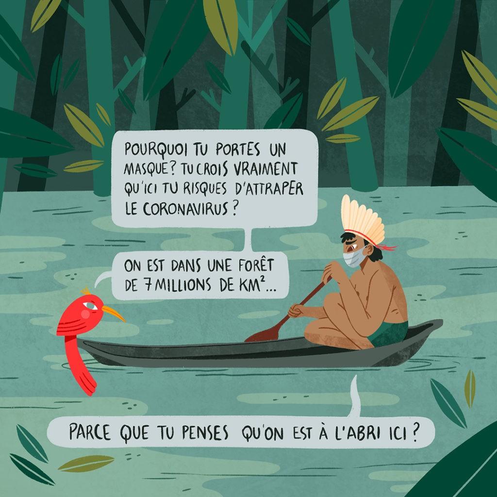 Amazonie en danger