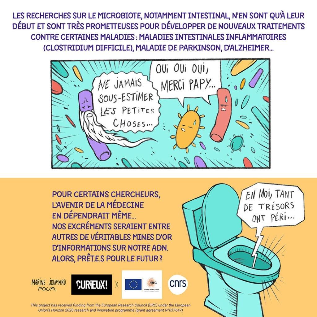 les microbes font partie de nous