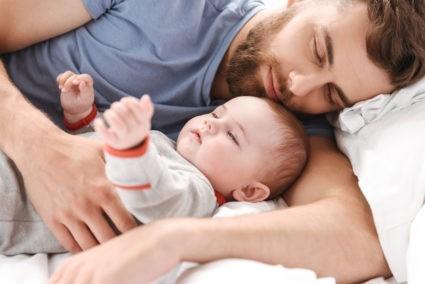 dormir avec son bebe