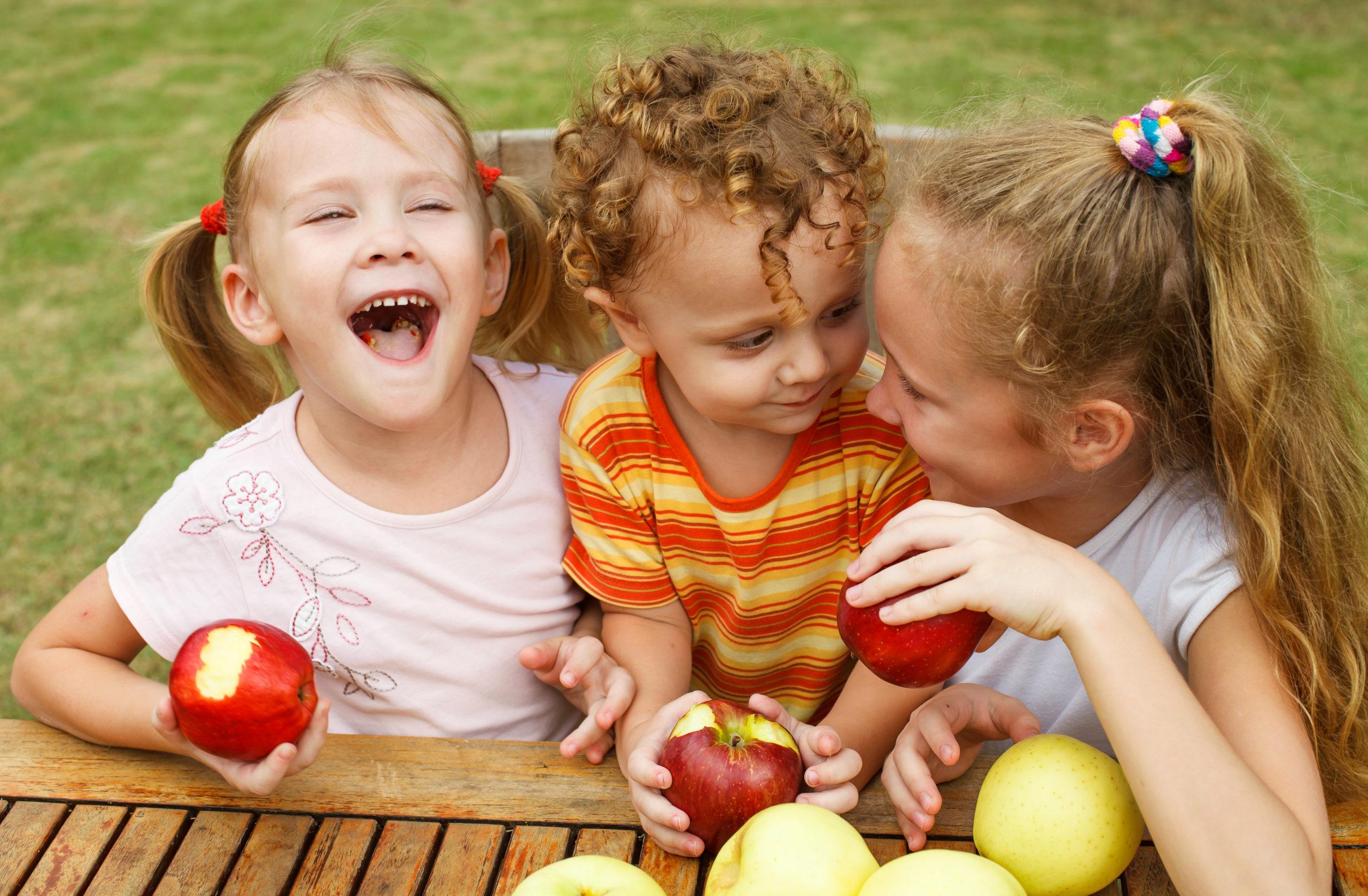 Des actus (positives) : Fruits et légumes, clés du bien-être pour les enfants, grande araignée de Méditerranée et fantôme